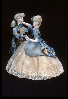 The Dancers  automaton | mechanical doll  1885  ManufacturerG. Vichy Materialmetal | bisque OriginFrance Styleclockwork Object...