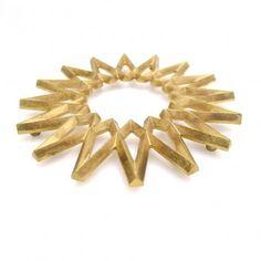 Starburst Brass Trivet