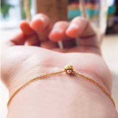 Mini Shell And Pearl Bracelet