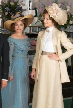 """MR. SELFRIDGE on Masterpiece Theatre: Mrs. Selfridge: """"Would you like some tea?"""" Ellen Love: """"No, thank you. I'm having an affair with your husband."""" Mrs. Selfridge: """"Well, I'll have some anyway."""""""