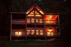 3 bedroom 3 bath mountain view of sunsets, tasteful decor, wi fi, wood burning fireplace, pool table, hot tub & more! Located near Blue Ridge GA @ www.mtngetawaycabins.com