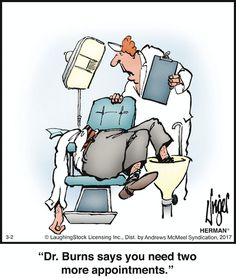 ideas for medical doctor humor funny comic strips Funny Shit, The Funny, Funny Jokes, Hilarious, Cartoon Jokes, Funny Cartoons, Funny Comics, Herman Cartoon, Herman Comic