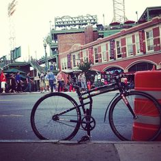 Montague fixed gear at Fenway