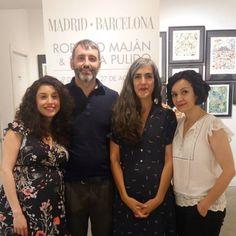 Exposición Madrid - Barcelona. Roberto Maján y Sonia Pulido. 9 de junio - 27 de agosto de 2017