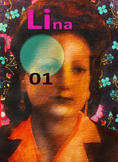 Créations Lafillecitron mix média Lina