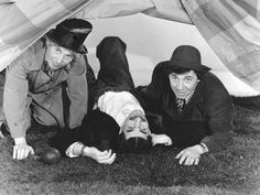 """""""At the Circus"""" Marx Brothers (Harpo, Groucho and Chico) 1939 MGM"""