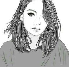 Karina saldivar на доске dibujos en blanco y negro в 2019 г. Hipster Girl Drawing, Hipster Girl Hair, Tumblr Girl Drawing, Girl Hair Drawing, Hipster Drawings, Tumblr Sketches, Tumblr Art, Hipster Girls, Girl Short Hair