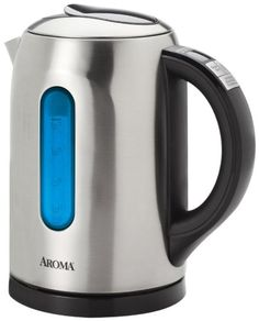 KapanAjah Mom: Small Appliances: Aroma 1.5 Liter (6-Cup) Digital Electric Water Kettle, Stainless Steel