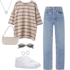 Teenage Outfits, Teen Fashion Outfits, Edgy Outfits, Mode Outfits, Retro Outfits, Vintage Outfits, Polyvore Outfits Casual, Prep Fashion, Batman Outfits