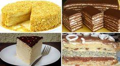 Очень хорошая подборка рецептов домашних тортов, сохраните!