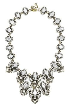BaubleBar 'Deco Diamond' Bib Necklace available at #Nordstrom