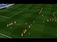 Free-soccer-drills: passing and receiving - YouTube