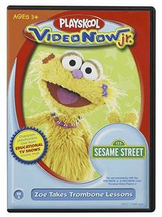 Videonow Jr. Personal Video Disc: Sesame Street #2 by Hasbro. $15.99. The first full-color, personal video player designed specifically for preschoolers. Featuring some of the most early learning programming on TV including Dora the Explorer, Blue's Clues, The Wiggles, Barney and Sesame Street. Impressive oversized buttons makes it easy for little hands to operate and rubberized bumpers designed to withstand the day-to-day bumps. Amazon.com VIDEONOW Jr. is the... The Wiggles, Blues Clues, Preschool Games, Dora The Explorer, Kids Videos, Early Learning, Jr, Programming, Street