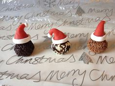 Brigadeiro gourmet for Christmas. By Feestje in een doosje!