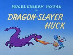 toon011 - The Huckleberry Hound / Title Card (3) / Hanna Barbera (1958)