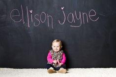 Love the new chalkboard wall
