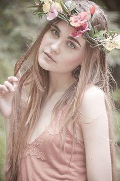 Spring Time Fantasy Photography at: http://www.pinterest.com/oddsouldesigns/springtime-soul/ #floral #headband