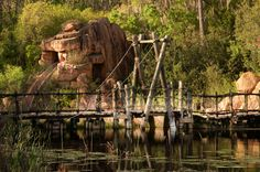 Seph Lawless Disney's abandoned River Country