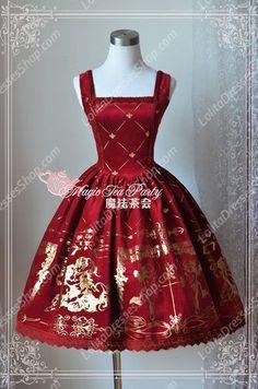 Image result for floral lolita dress