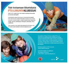 SAMK Soteekin liikuntaklubi-flyer (2-puoleinen, 2016)
