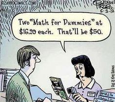 Bizarro comic by Dan Piraro Math Puns, Math Memes, Science Jokes, Math Humor, Teacher Humor, Grammar Humor, Algebra Humor, Biology Humor, Chemistry Humor