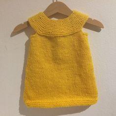 Kjole - tunika - topp. Baby Dress Patterns, Baby Knitting Patterns, Crochet Patterns, Baby Dresses, Tunics, Hooks, Fashion, Role Models, Clothes