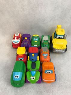 Mixed Lot Of 11 Toy Trucks, Cars And Four Wheeler, 2 Polyfect Toys Vehicles And 9 Tonka Mini Vehicles. Toys are in good preowned condition. Great little toy vehicles for small hands.   eBay!