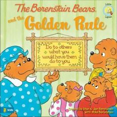 Berenstain Bears And The Golden Rule (Oct 2008) | When Sister Bear receives a locket for her birthday with the Golden Rule inscribed on it, she wonders what the verse means. | NestLearning.com