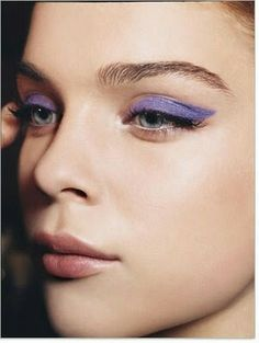 purple on the peeps #mirabellabeauty #purple #eyeshadow
