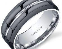 conforto mens ajuste 8mm anel de alianca de casamento de titanio preto platinum engagement ring 2017