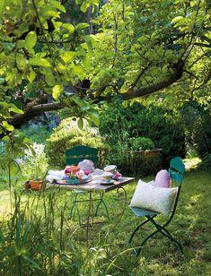 El jardín de la rescatadora de rosas · ElMueble.com · Casa sana