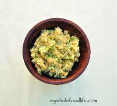 Un-Tuna Salad.  A great alternative to those that want to avoid tuna.  This spread is awesome on crackers, bread or just by itself.  Free of mayo and oil.  Vegan and gluten free.
