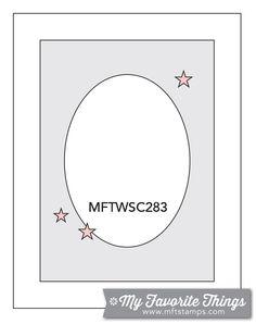 MFT Card Challenges: Wednesday Sketch Challenge - Sketch 283
