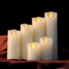 United Plastic Table-top Decorations Party Supplies Stylish Festive Led Candle Pratical Decorative Light Wedding Structural Disabilities Home