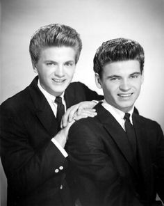 "The Everly Brothers (Isaac Donald ""Don"" Everly, born February 1, 1937, and Phillip ""Phil"" Everly, born January 19, 1939) are American country-influenced rock and roll singers, known for steel-string guitar playing and close harmony singing. The duo was elected to the Rock and Roll Hall of Fame in 1986."