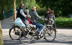 The Dutch and their bikes are inseparable. Fietsen in Vondelpark, Amsterdam Dutch Bicycle, Visit Holland, Kingdom Of The Netherlands, Van Gogh Museum, Water Management, Bike Path, Take The First Step, My Heritage, Tandem