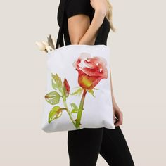 Shop Gentle Rose design Tote Bag created by Buy_ArtDuo. Wedding Gift Bags, All Flowers, Rose Design, Holiday Photos, Custom Clothes, Pink Girl, Tote Bags, Stuff To Buy, Wedding Goody Bags