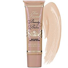 Too Faced Tinted Beauty Balm SPF 20 in Vanilla Glow #sephora