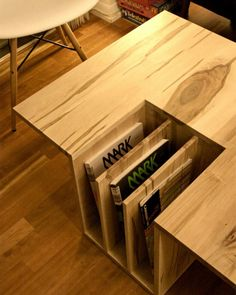 Beautiful Contemporary Multifunction Coffee Table For Your Living Room: Wonderful  Interior Furniture One Two Table Wood Material Details ~ SQUAR ESTATE  Living Room ... Awesome Ideas