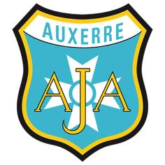 Auxerre of France crest. Football Cards, Football Players, Auxerre, Everton Fc, Old Logo, European Cup, Sports Clubs, European Football, Logos