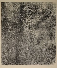 Jean Dubuffet, Humus, 1958, lithography
