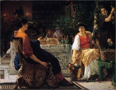 Sir Lawrence Alma-Tadema, Preparations for the Festivities