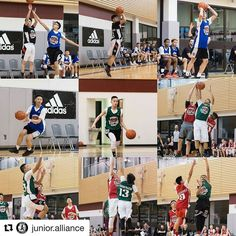 Some action pics of @junior.alliance players at @top40camp