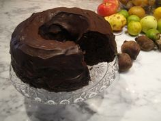 Farmer's Secret Chocolate Bundt Cake (has beets and zucchini in it!!) #recipe