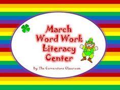 March Word Work Center