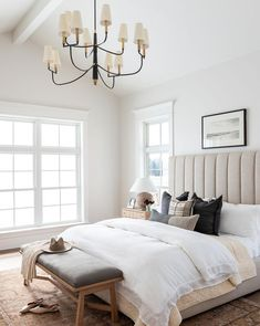 Home Decor Habitacion .Home Decor Habitacion Studio Mcgee, Coastal Bedrooms, Coastal Master Bedroom, Bedroom Neutral, Bedroom With White Walls, Bronze Bedroom, Royal Bedroom, Neutral Bedding, Luxury Bedrooms