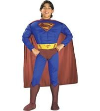 SUPERMAN DELUXE MUSCLE CHEST COSTUME