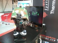 Thermoteknix' ClipIR Small Clip On Thermal Imager at Counter Terror Expo 2013