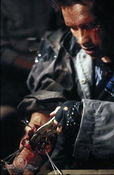 Arnold Schwarzenegger in The Terminator (1984)