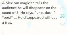mexican magician joke - Google Search